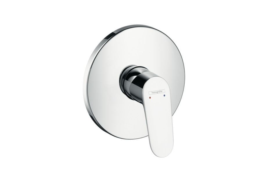 Focus Single Lever Shower Mixer, for concealed installation by ...