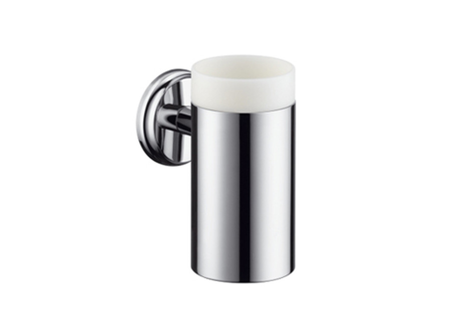 Logis Classic ceramic toothbrush tumbler with holder