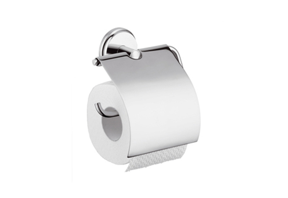 Logis Classic roll holder with cover