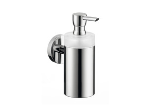 Logis glass lotion dispenser  by  Hansgrohe