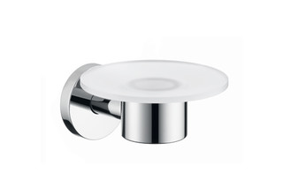 Logis glass soap dish  by  Hansgrohe