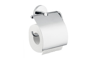 Logis roll holder with cover  by  Hansgrohe