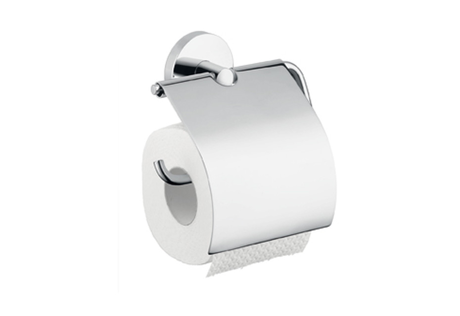 Logis roll holder with cover