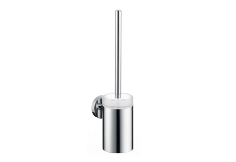 Logis toilet brush with glass holder