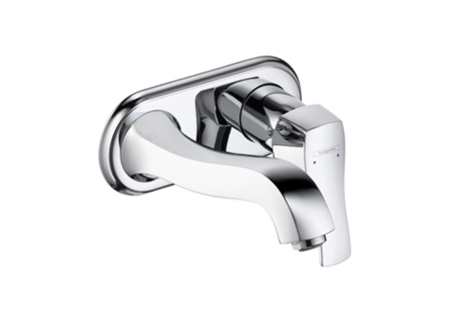 Metris Classic Single Lever Basin Mixer, DN15, for concealed installation, with spout 225mm