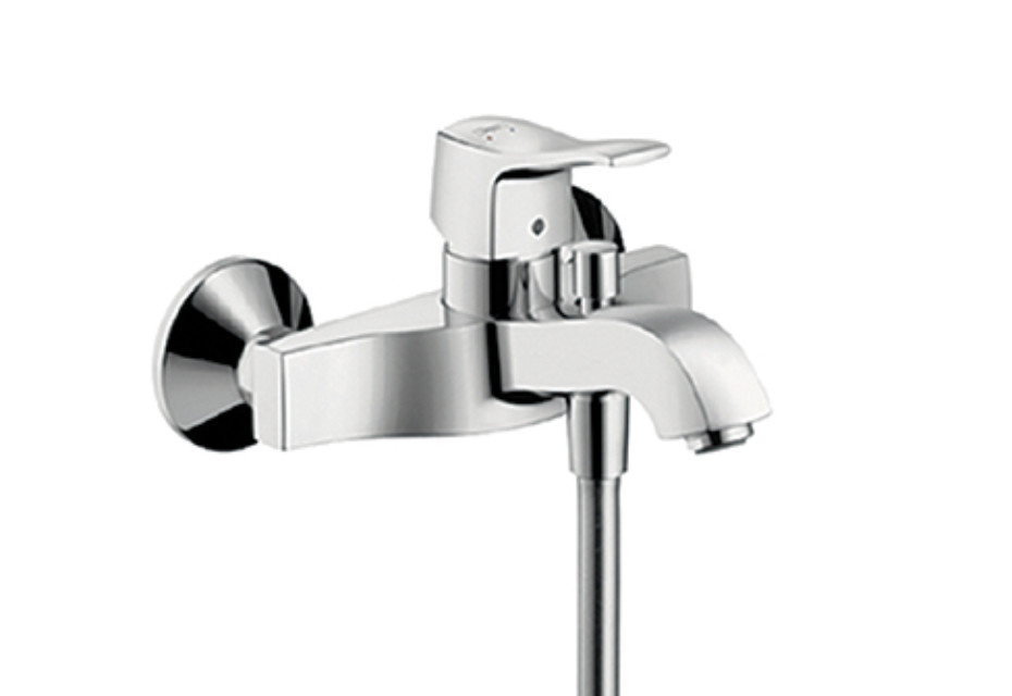 Metris Classic Single Lever Bath Mixer, DN15, for exposed fitting