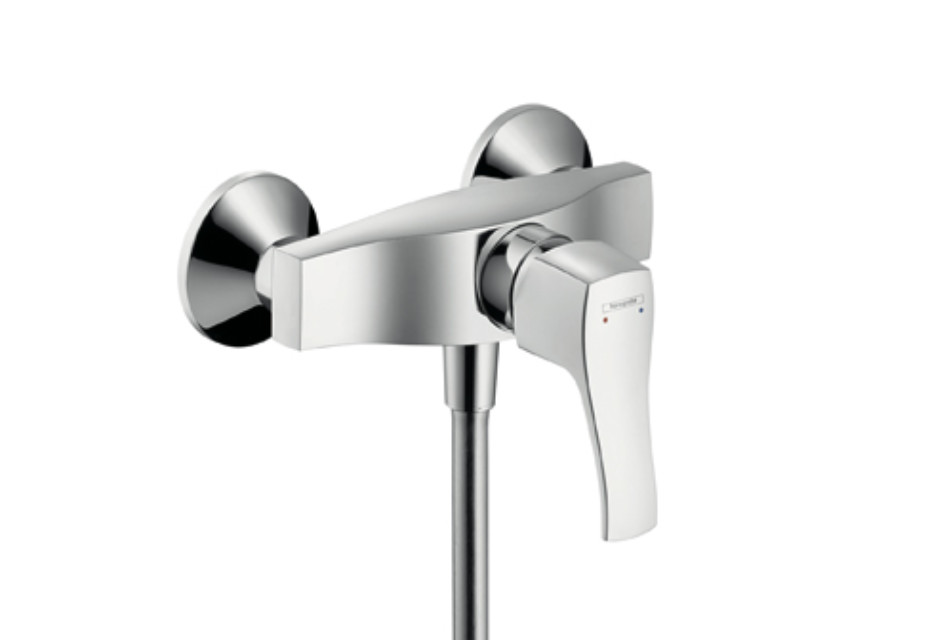 Metris Classic Single Lever Shower Mixer, DN15, for exposed fitting