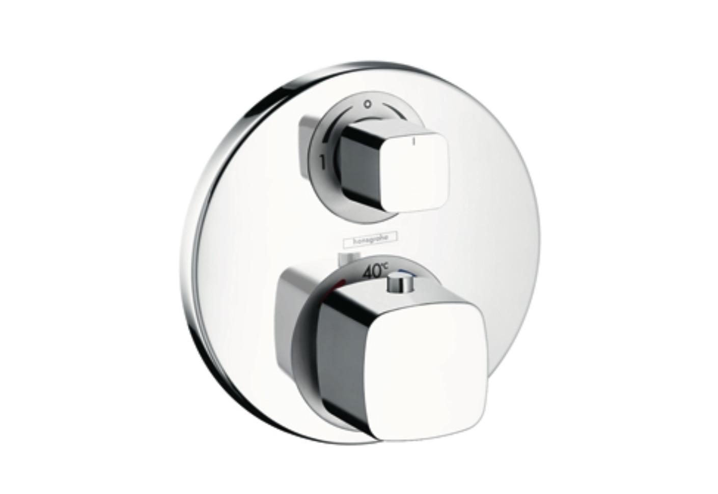 metris ecostat e thermostat unterputz mit ab. Black Bedroom Furniture Sets. Home Design Ideas