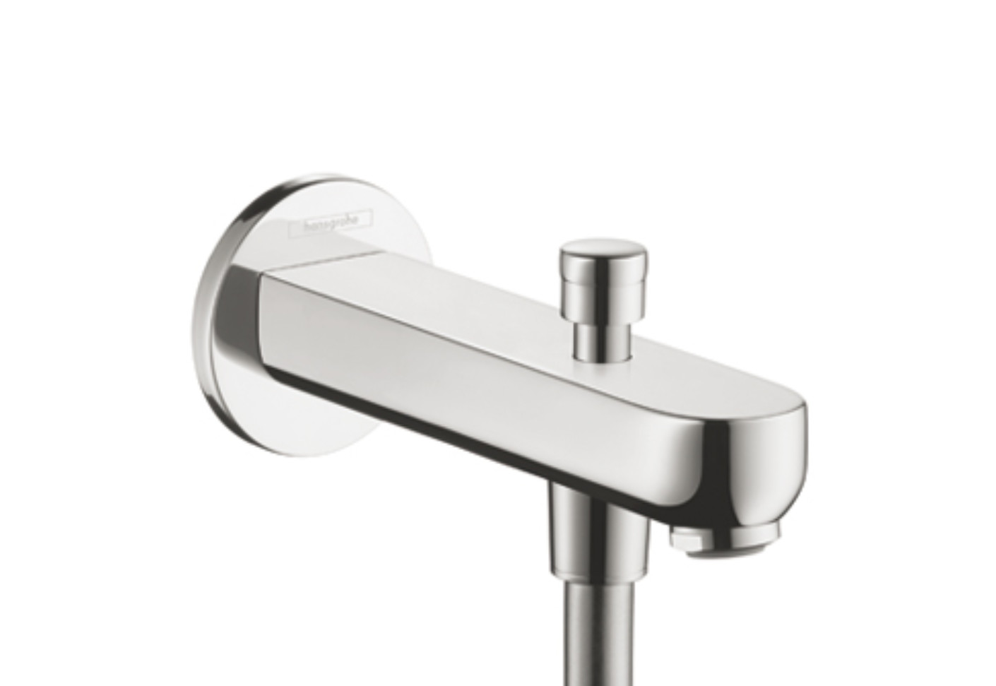 Metris S Bath Filler 152mm with Diverter by Hansgrohe | STYLEPARK