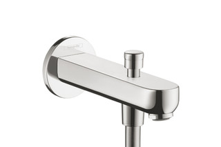 Metris S Bath Filler 152mm with Diverter  by  Hansgrohe