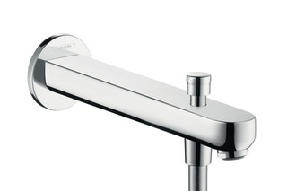 Metris S Bath Filler 228mm with Diverter  by  Hansgrohe