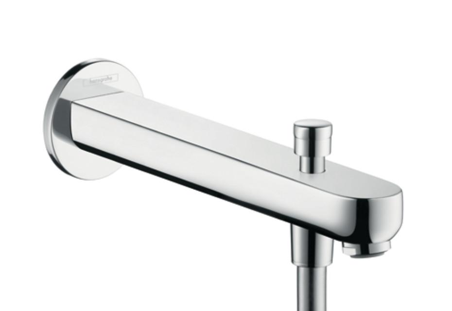 Metris S Bath Filler 228mm with Diverter