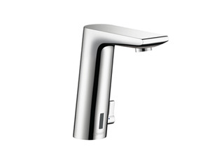 Metris S Electronic Basin Mixer, DN15, with temperature control  by  Hansgrohe