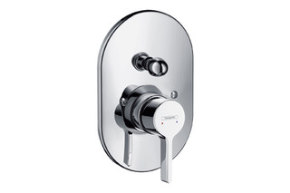 Metris S Single Lever Bath Mixer for concealed installation, DN15, oval version  by  Hansgrohe