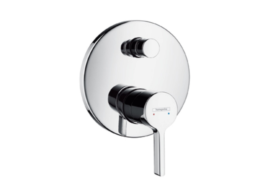 Metris S Single Lever Bath Mixer for concealed installation, DN15