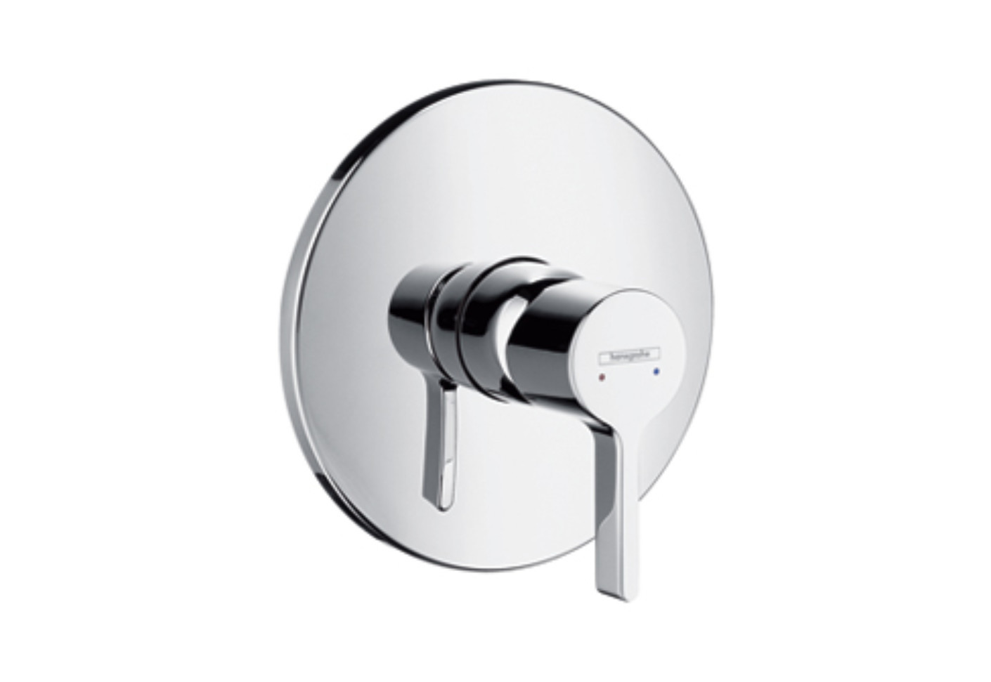 Metris S Single Lever Shower Mixer, DN15, for concealed installation ...