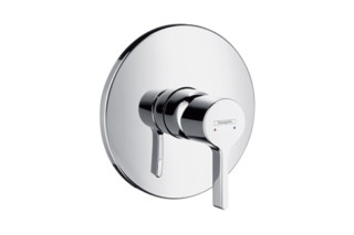 Metris S Single Lever Shower Mixer, DN15, for concealed installation  by  Hansgrohe