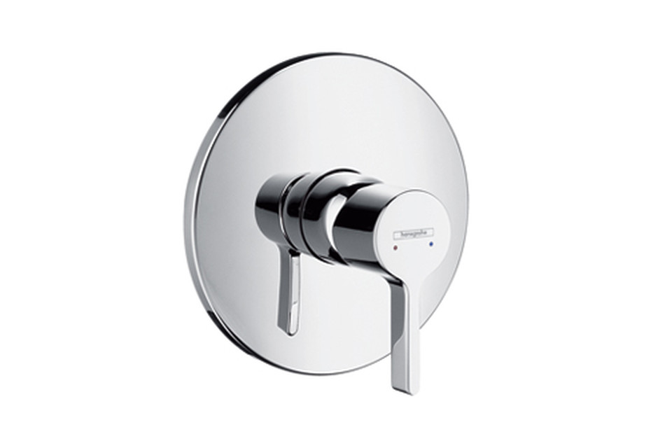 Metris S Single Lever Shower Mixer, DN15, for concealed installation