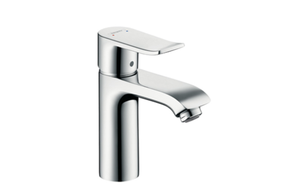 Metris Single Lever Basin Mixer 110, DN15 by Hansgrohe | STYLEPARK
