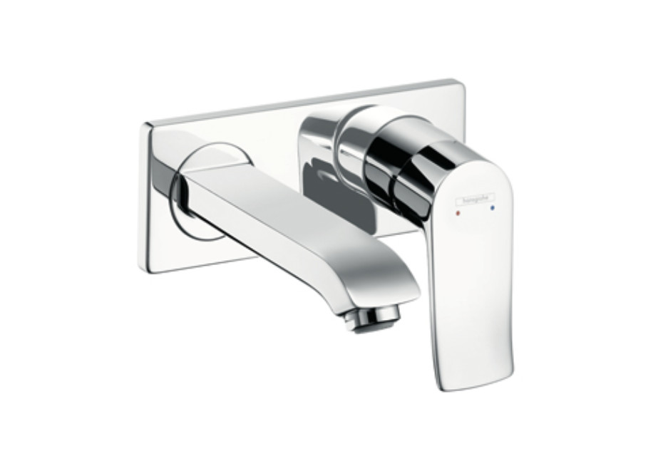 Metris Single Lever Basin Mixer, DN15, for concealed installation with spout 225mm