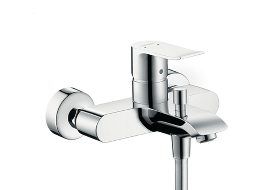 Metris Single Lever Bath Mixer, DN15, for exposed fitting