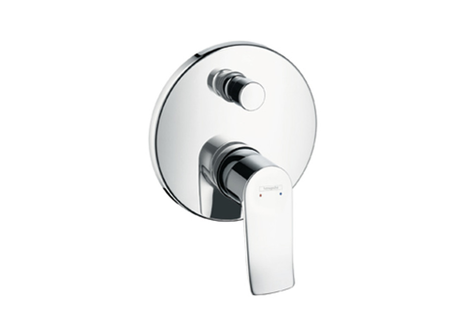 Metris Single Lever Bath Mixer for concealed installation