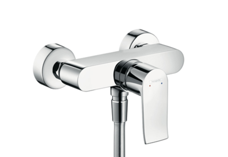 Metris Single Lever Shower Mixer, DN15, for exposed fitting