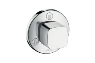 Metris Trio/Quattro Shut-Off and Diverter Valve for concealed installation DN20  by  Hansgrohe
