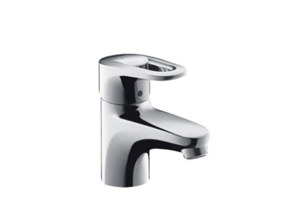 Metropol E Single Lever Basin Mixer DN15 for hand basins