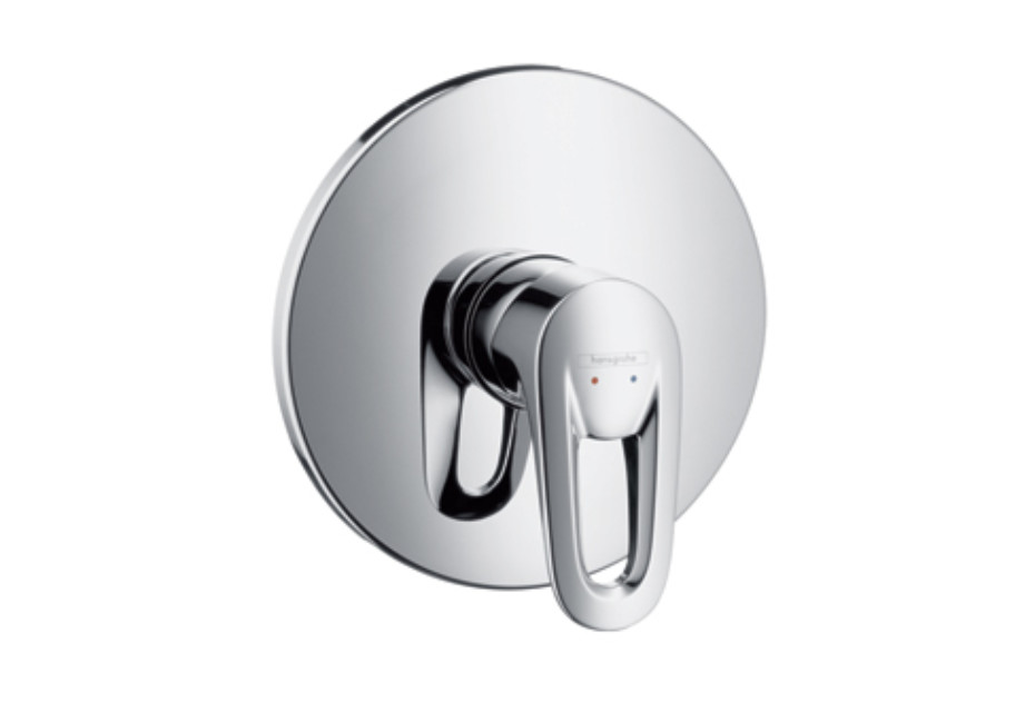 Metropol E Single Lever Shower Mixer DN15, for concealed installation