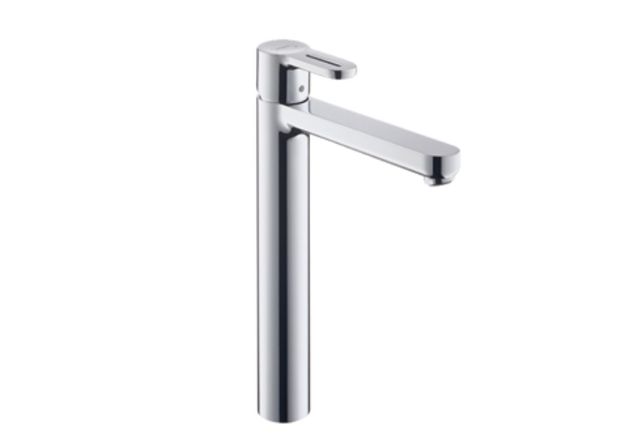 Metropol S Single Lever Basin Mixer, DN15, for wash bowls