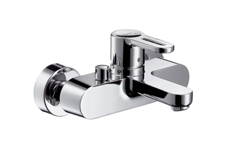 Metropol S Single Lever Bath Mixer, DN15, for exposed fitting