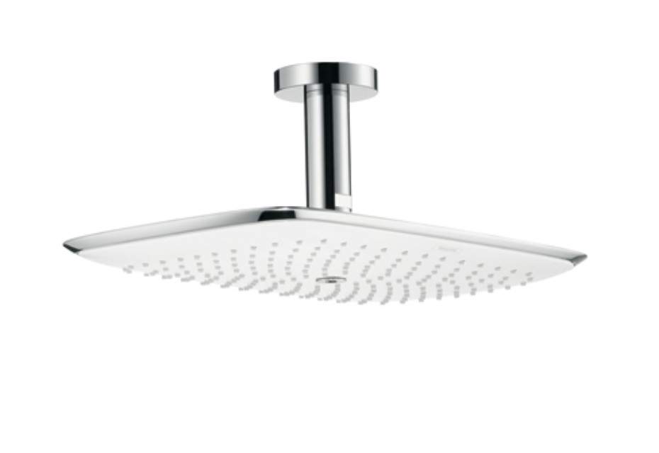 PuraVida Overhead Shower 400mm DN15 with 100mm ceiling connector