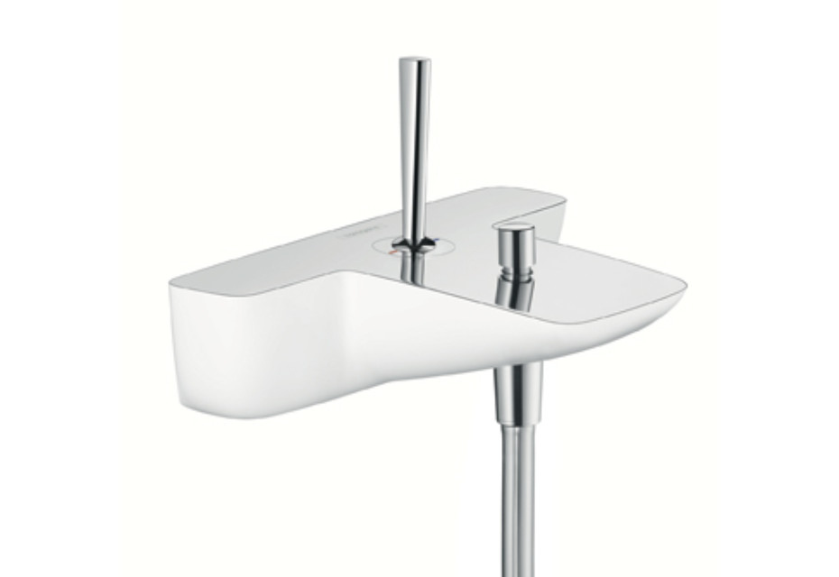 PuraVida Single Lever Bath Mixer, DN15, for exposed installation
