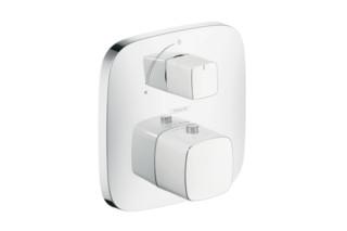 PuraVida Thermostat Unterputz mit Absperrventil  von  hansgrohe