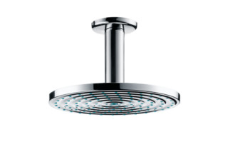 Raindance Air Overhead Shower Ø180mm EcoSmart, DN15, with ceiling connector 100mm  by  Hansgrohe