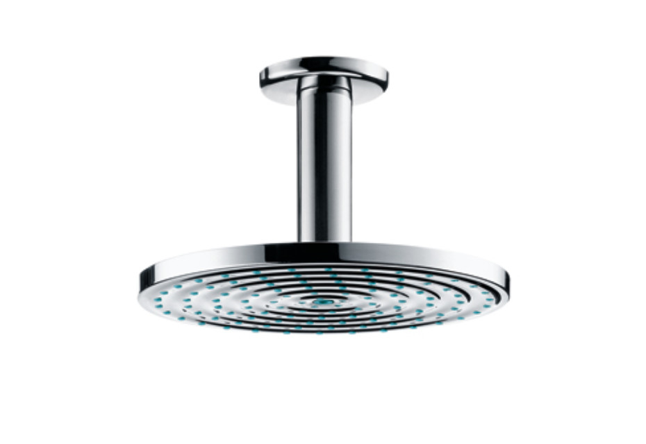 Raindance Air Overhead Shower Ø180mm EcoSmart, DN15, with ceiling connector 100mm