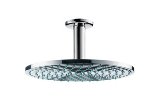 Raindance Air Overhead Shower Ø240mm EcoSmart, DN15, with ceiling connector 100mm  by  Hansgrohe