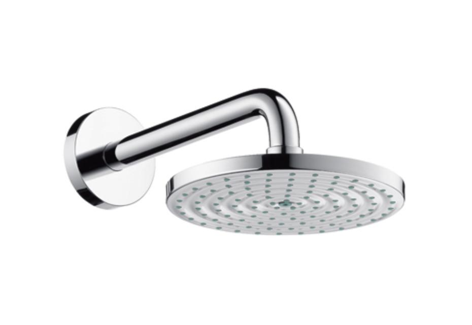 Raindance Air Plate Overhead Shower Ø180mm, DN15, shower arm 240mm