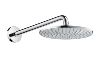 Raindance Air Plate Overhead Shower Ø240mm, DN15, with shower arm 390mm  by  Hansgrohe