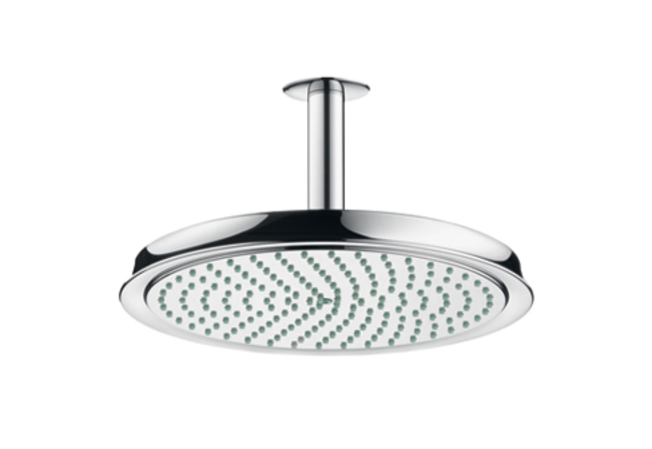 Raindance Classic Air Plate Overhead ShowerØ 240mm, DN15, with ceiling connector 100mm