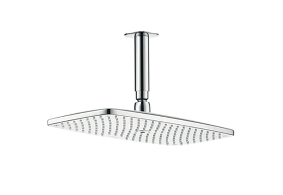 Raindance E 360 Air 1jet Overhead Shower, DN15, with 100mm ceiling connector