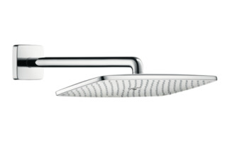Raindance E 360 Air 1jet Overhead Shower, DN15, with 390mm shower arm  by  Hansgrohe