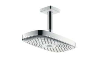 Raindance Select E 300 2jet Overhead Shower with ceiling connector, DN15  by  Hansgrohe