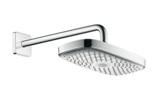 Raindance Select E 300 2jet Overhead Shower with shower arm 390 mm, DN15  by  Hansgrohe