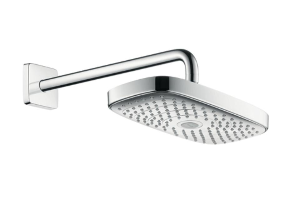 Raindance Select E 300 2jet Overhead Shower with shower arm 390 mm, DN15