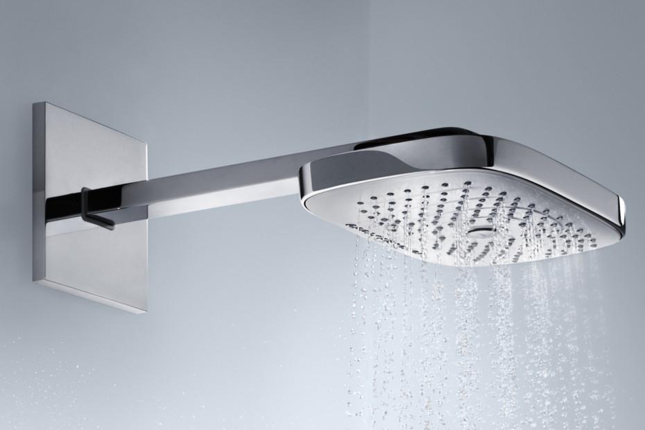 Raindance Select overhead showers E300 3jet wall