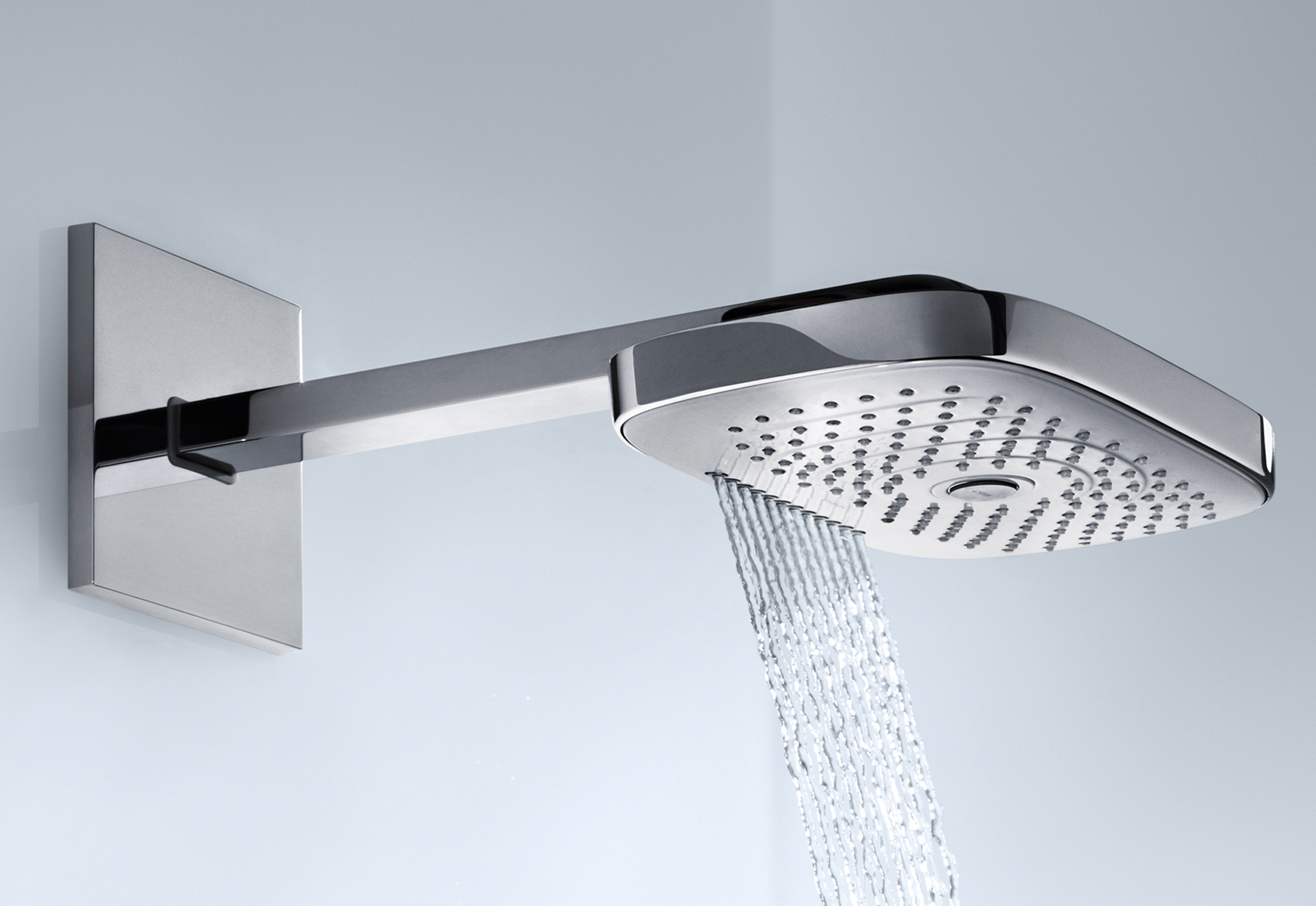 Raindance Select overhead showers E300 3jet wall by Hansgrohe ...