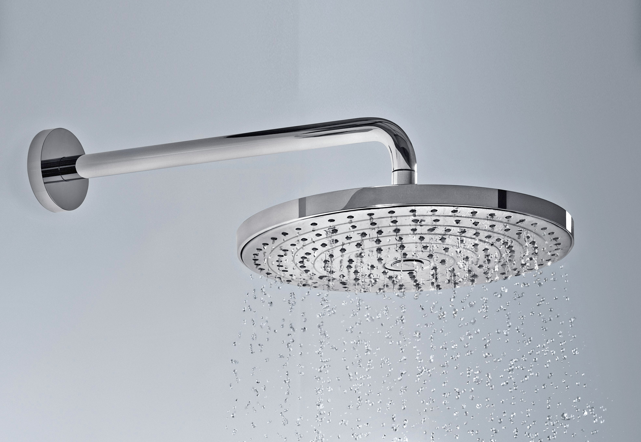 Raindance Select overhead showers S300 by Hansgrohe | STYLEPARK
