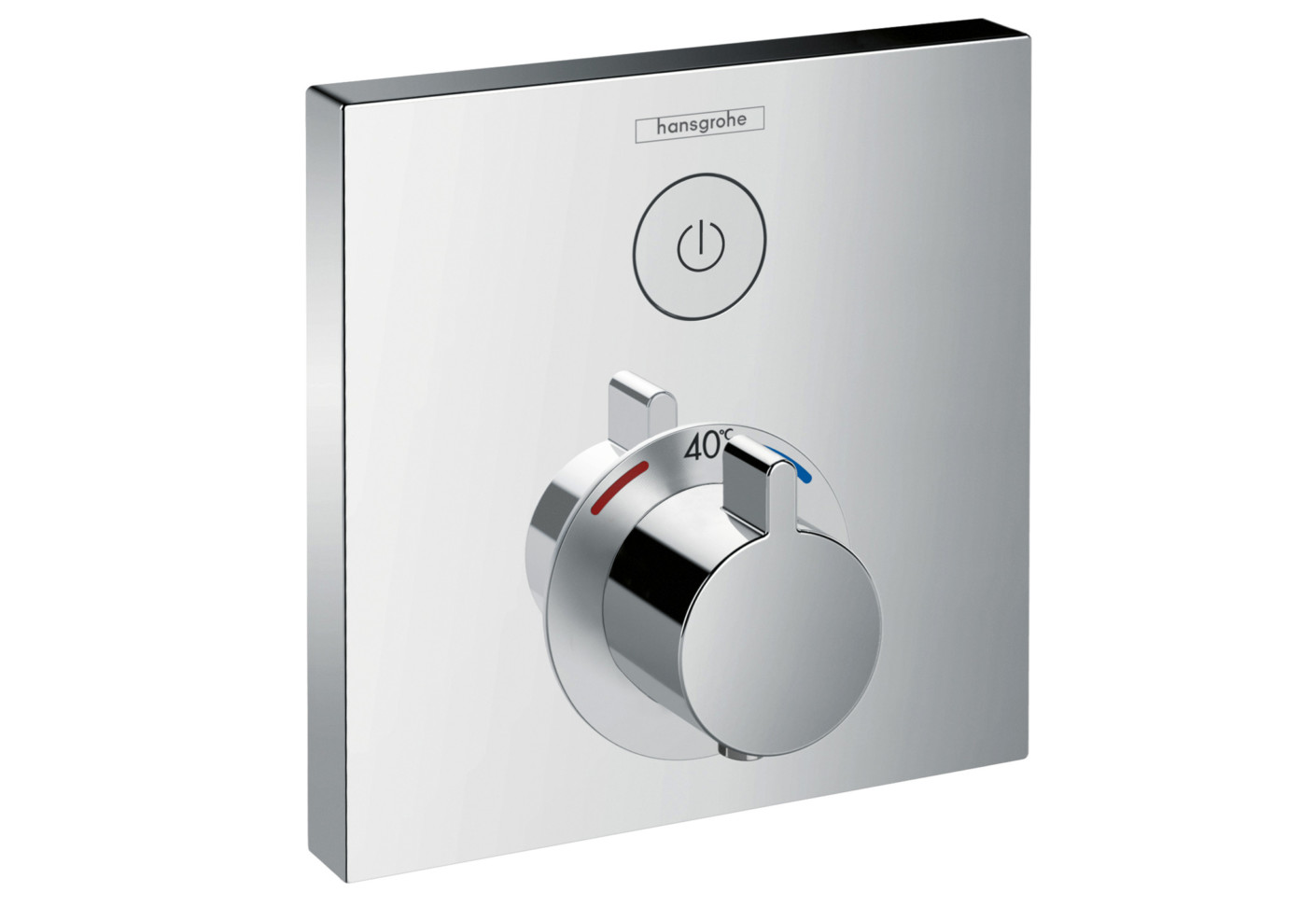 shower select concealed thermostat by hansgrohe stylepark. Black Bedroom Furniture Sets. Home Design Ideas